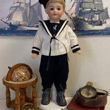 Костюм для антикварной куклы по антикварному образцу 2
