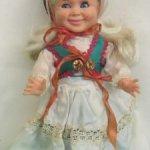 Винтажная кукла RATTI Ратти 30см Mattel S.P.A.