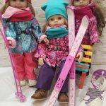 Комплекты одежды для кукол Паола Рейна
