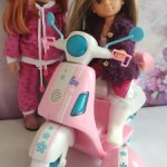 Скутер для кукол