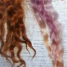 Окрашивание козочки, испытание краски для волос