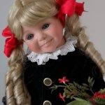 Счастливая малышка Kayla по молду Dianna Effner!