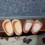 Туфли от куклы СССР Марина Флиртушка и ещё одна пара поменьше