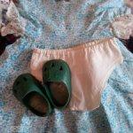 Родная одежда и обувь для куклы СССР Светлана  и Нина ранние