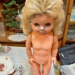 Кукла ГДР Раунштайн 60 см на запчасти