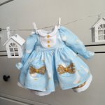 Платье гуси 1