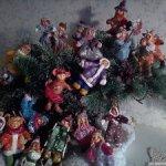 Забавные человечки из ватного папье-маше на елку