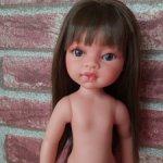 Кукла Эмили-брюнетка,33см.от Антонио Хуан (Antonio Juan)