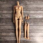 Шарнирное тело для Интегрити, Integrity, Барби, полный комплект (3)