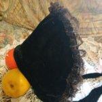 Антикварный боннет для куклы