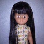 Кукла Lissi Doll, Германия,  карие глаза
