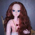 Кукла шарнирная 60 см (1/3, SD) с прошитыми волосами