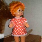 Кукла СССР Гуля, продажа НЮД