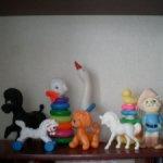 Любимые всеми, 8 винтажных игрушек  СССР. Цена за всех!