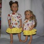 Платья для кукол Готц и им подобных