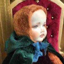 Тедди-долл гномик авторская кукла