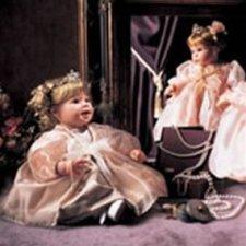 """Princess Diamond"" Lee Middleton doll от автора Reva Schick"