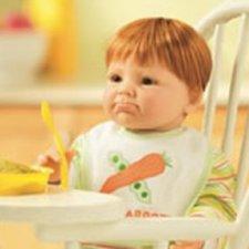 "Рыжий малыш ""Peas and Carrots"" Lee Middleton doll от автора Reva Schick"