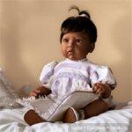 "Новенькая девочка ""Baby's First Prayer"" Lee Middleton от Reva Schick"