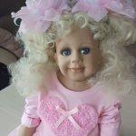 Коллекционная кукла,Сара.
