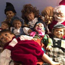 Эти куклы особенные для меня