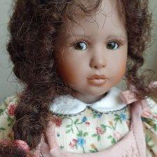 """Продам коллекционную виниловую куклу ,,Аshley""""от Haidi Plusczok."""