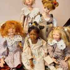 Потрясающие кукли Sandy McAslan