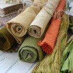 Набор тканей ручного крашения №3