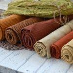 Набор тканей ручного крашения №1