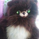 Милейший котик из натурального меха. Цена минимальная, ниже некуда