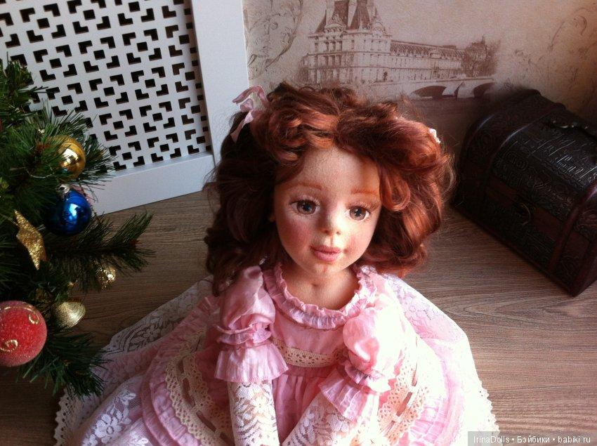 Текстильная кукла Мари
