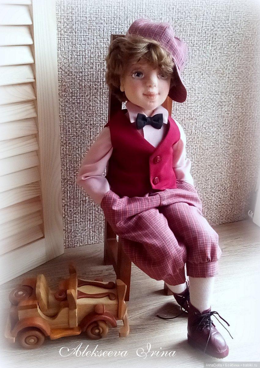 Текстильная кукла Артур