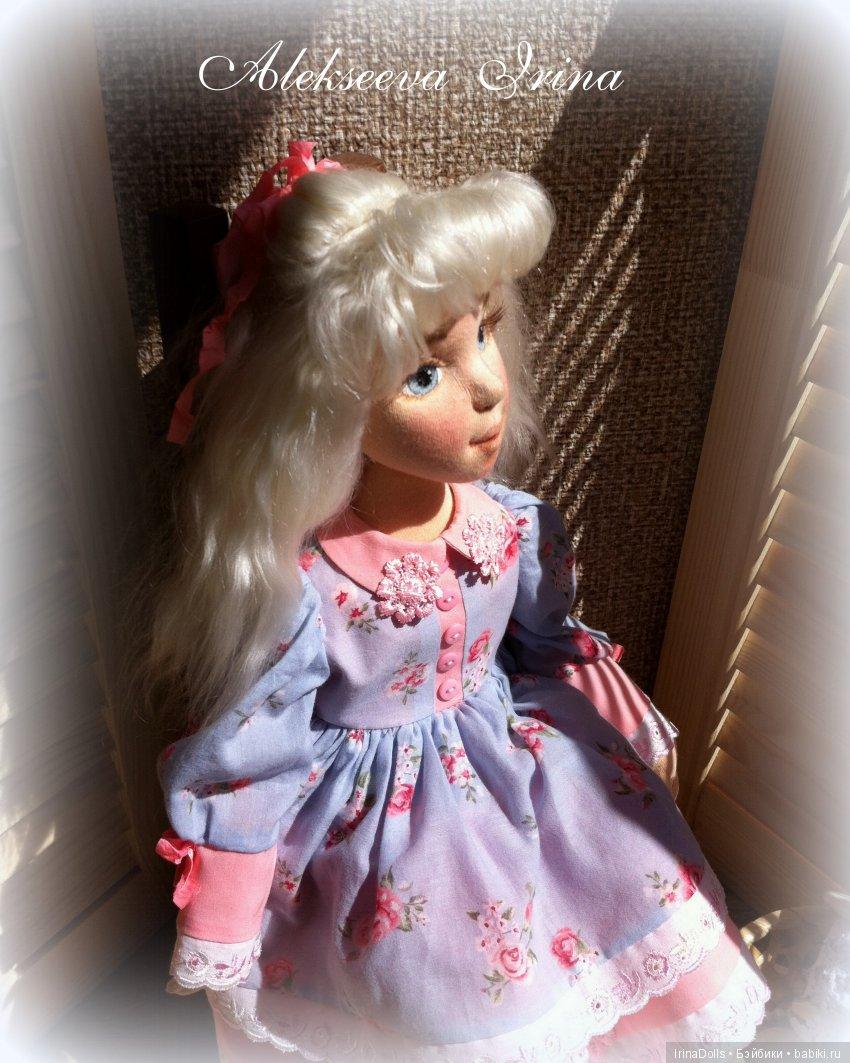 Текстильная кукла Лаура