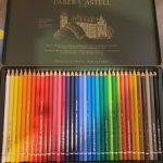 Художественные акриловые карандаши фирмы Faber-Castell