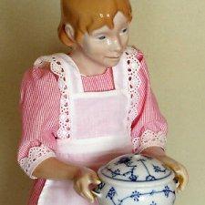 7 кукол от датской фарфоровой мануфактуры  Bing & Grøndahl