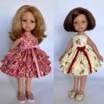 """Платья  """" Безе"""" для куколок Paola Reina и подобных"""