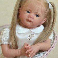 Кукла реборн Милана. Срочная продажа , цена до конца месяца 45000