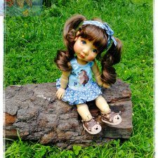 Снова одеваю малышку Есению  Meadow Dolls 15 in Mae / Aya