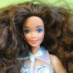 Голова Барби Saphire sophisticate Barbie.