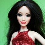 Голова Ракель Barbie style