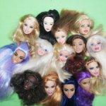Головы Барби по 500р. Разные молды