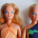 Две близняшки Skipper Island Fun 1987. Снижение цены