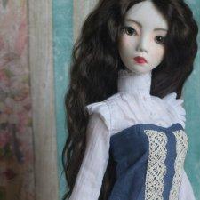 Шарнирная кукла из запекаемой пластики урок 3 - скульптинг