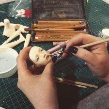 Онлайн-курс по созданию куклы в смешанной технике