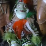 Чудесный лягуш-арлекин
