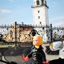 Нэнси Фамоса, мотовыходные, поездка в Невьянск