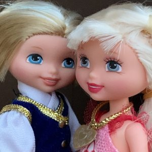 Куколки Келли. Mattel. Лимонноголовые