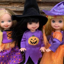 И мы готовы к Хеллоуину! Куколки Келли. Mattel. Halloween. Ведьмочки
