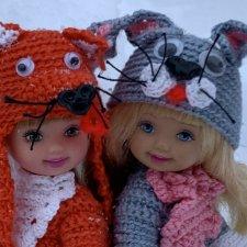 Куколки Келли. Mattel. Лиса и Заяц