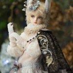 Уши от minifee iru. Уши и хвост/тело FairyLine Momo (Bunny), рога от littlefee cygne